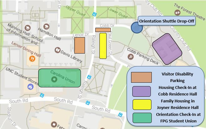 Visitor Disability Parking Map