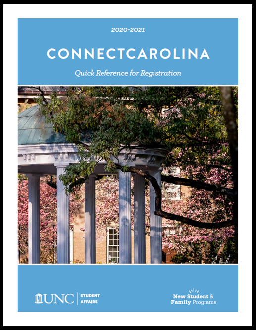 ConnectCarolina booklet cover